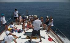 Promar oferta salidas en barco desde Adra