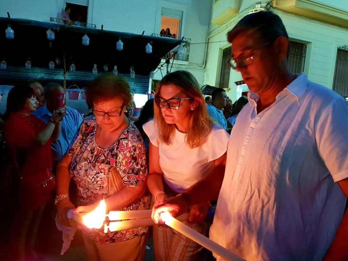 Dalías, un estallido de fe en honor al Cristo de la Luz
