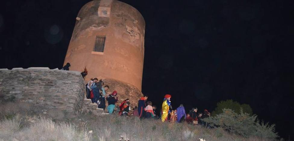 La torre vigía de Guainos, testigo de un paseo terrorífico