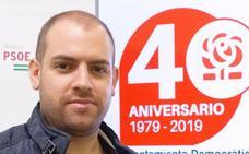 El PSOE rinde honores a 40 años de democracia en Fondón