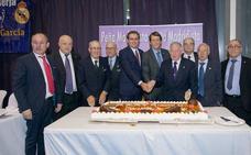 La Peña del Real Madrid de Berja celebra 35 años de afición