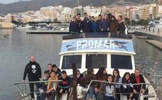 Estudiantes de Laujar navegan con Promar en Adra