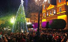 Luz y color en las calles de Berja para celebrar la Navidad