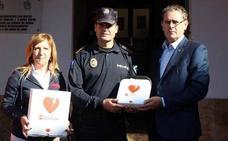 La Policía Local de Berja estrena desfibriladores para actuar en caso de infarto