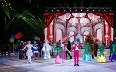 La Bella y la Bestia, un espectáculo sobre hielo en Adra