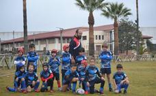 La escuela Marrajos, presente en el primer Campeonato Andaluz de Rugby Gradual