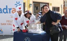 El pequeño comercio regala anturios y cenas románticas por San Valentín