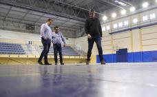 Deportes anuncia para abril la renovación de la pista del Pabellón
