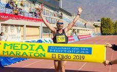 Adra se sube al podio de la Media Maratón de El Ejido