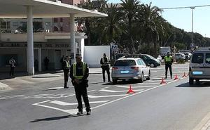 La Policía Local vigila de cerca el uso del cinturón de seguridad