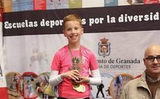 Abdera Fenicia, en el podio del atletismo para personas con discapacidad intelectual