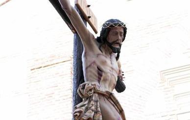 Adra recibe hoy al Cristo de la Expiración