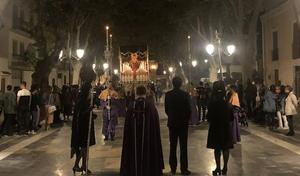 Tres cofradías salen hoy a la calle en la Semana Santa virgitana
