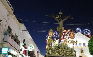 Dalías celebra el aniversario de la restauración del Cristo de la Luz