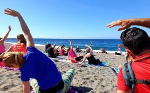 Comienzan las clases de yoga y pilates en la playa