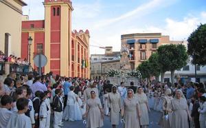 Berja se engalana para celebrar el Día del Corpus