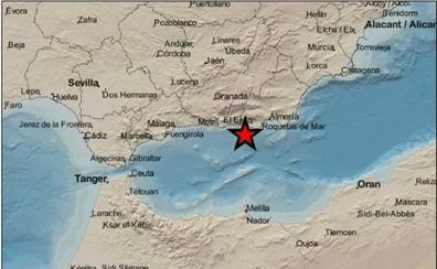 Nuevo terremoto registrado al norte del Mar de Alborán