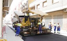 Terminan las obras en las calles Murillo y Jumilla