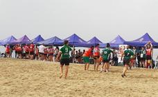 El Carboncillo, punto de partida del torneo de rugby playa