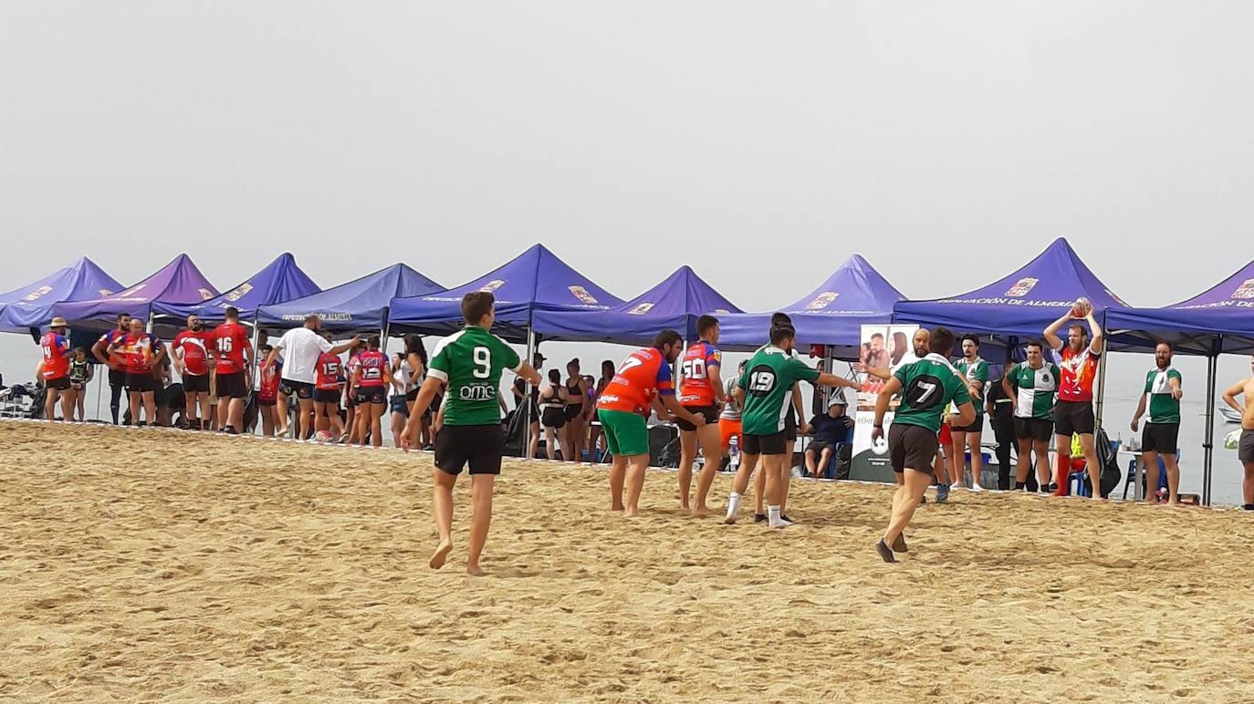 Adra, punto de partida del torneo de rubgy playa