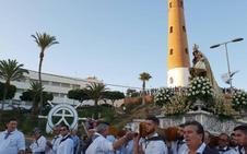 Adra venera a la Virgen del Carmen