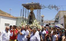 Río Chico rinde tributo a la Virgen del Carmen