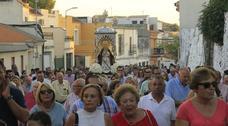 Berja se despide hoy de su Feria con la romería en honor a su patrona