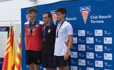 Gonzalo Marín, subcampeón de España en 100 metros mariposa