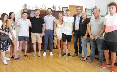 Gonzalo Marín, un «estupendo embajador» de Adra