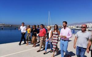 Comienzan las obras en el Puerto de Adra