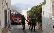 Detienen un hombre en Berja como responsable de un incendio en una zona de chumberas