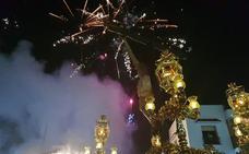 Globos biodegradables en honor al Cristo de la Luz de Dalías