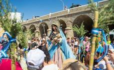 Adra arropa a la Virgen de los Ángeles en un «día histórico»