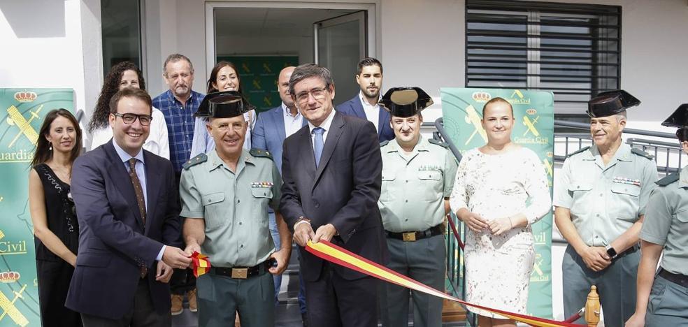 El cuartel de la Guardia Civil, «más moderno y funcional»