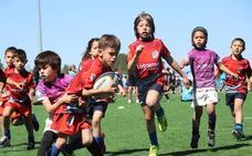 Marrajos invita a los niños a descubrir el rugby