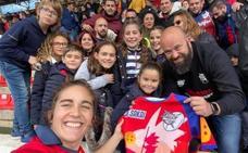 La Federación Española de Rugby concede a Adra una «madrina de lujo»