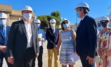 Educación prevé terminar la ampliación y mejora del colegio Mare Nostrum de Adra a final de curso
