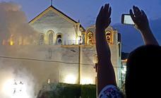 Dalías prepara el disparo de 24.000 cohetes en honor al Cristo de la Luz