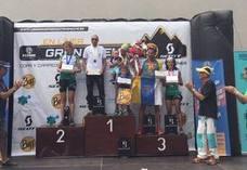 Facha y Noelia Camacho consiguen podium en el Campeonato de España de Carrera por Montaña