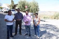 Ejecutadas el 80 % de las obras de acceso a La Hortichuela