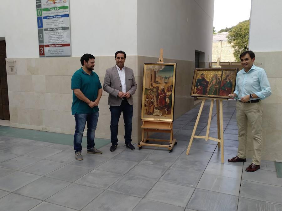 El Ayuntamiento adquiere dos retablos de la iglesia de Santo Domingo de Silos