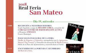 Programación de la Feria de San Mateo 2018