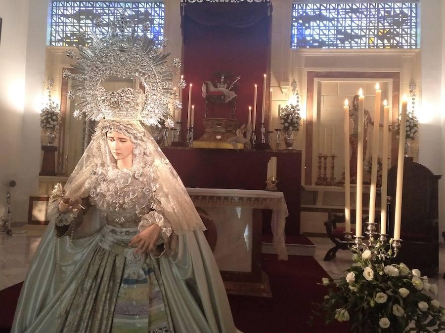Fin de semana del besamanos de Nuestra Señora del Alba y Rocío