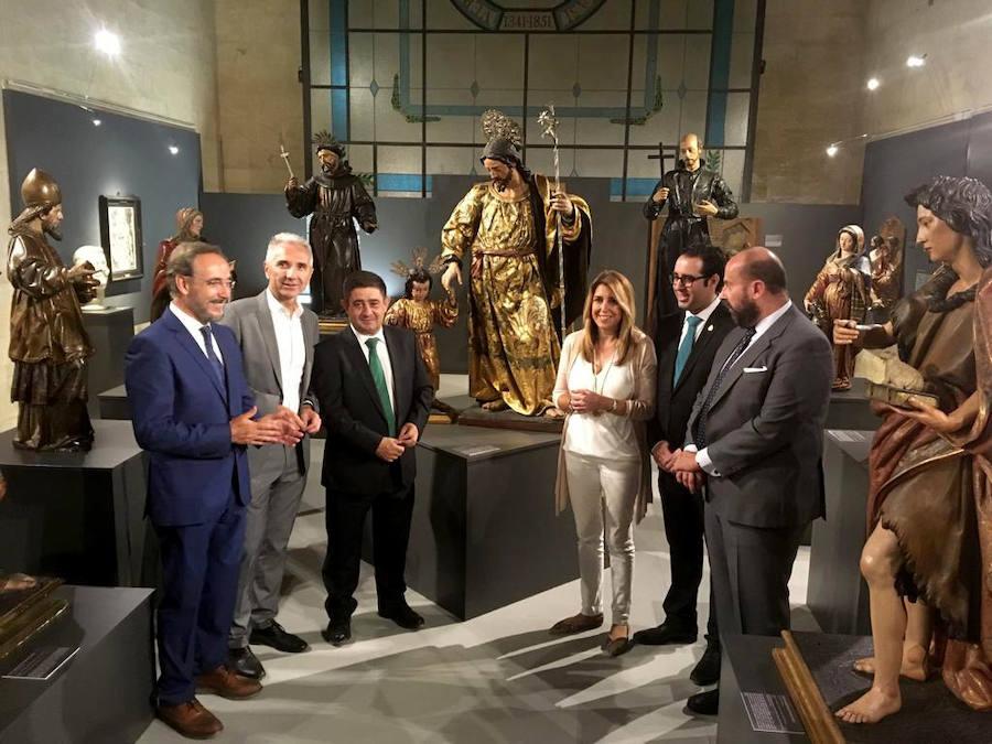 Inaugurada la exposición «Juan Martínez Montañez: el dios de la madera»