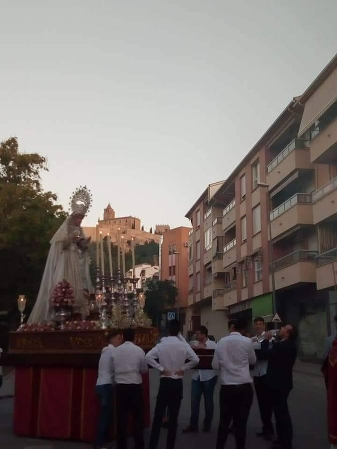 Segunda salida de Nuestra Señora del Alba y Rocío