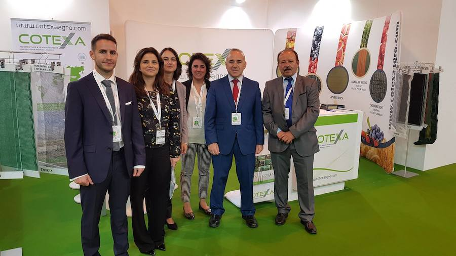 Cotexa Alcalaína expone en la feria de referencia del sector hortofrutícola