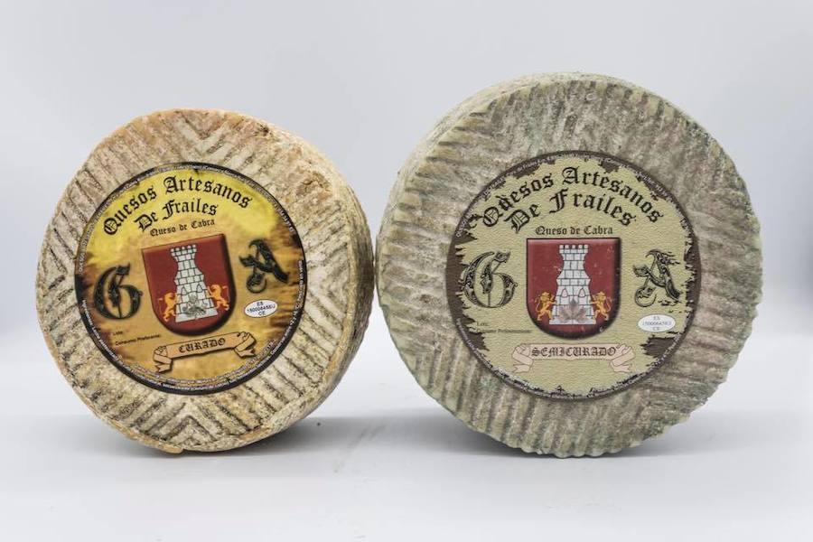 Un queso con medalla de plata