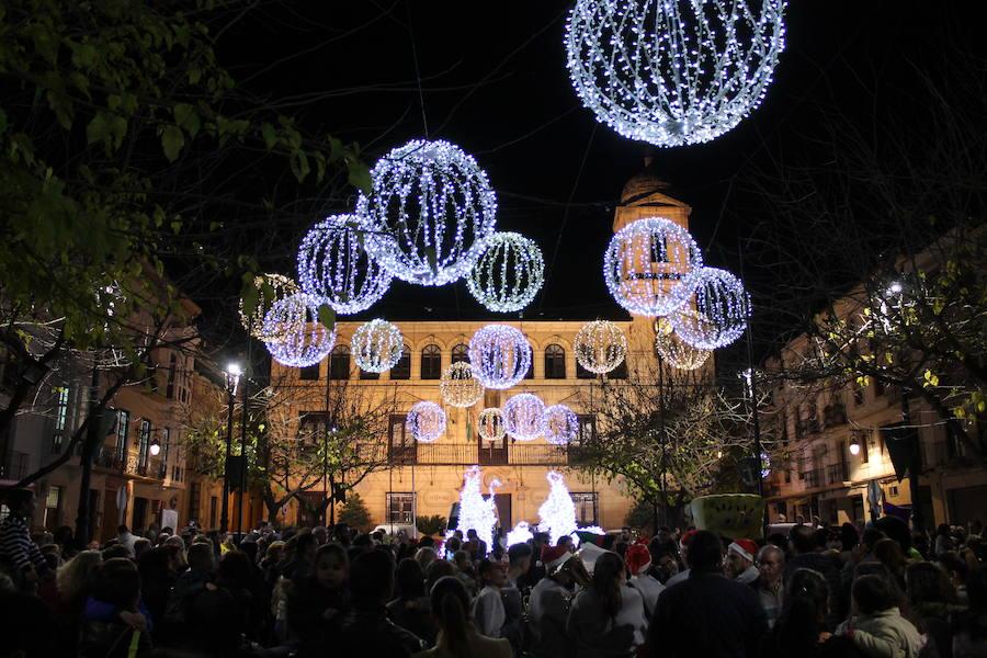 Las luces que dan la bienvenida a la Navidad