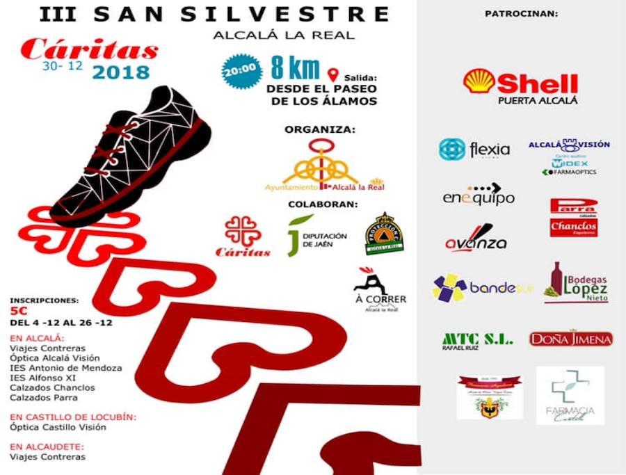 Deporte y solidaridad unidos en la San Silvestre alcalaína