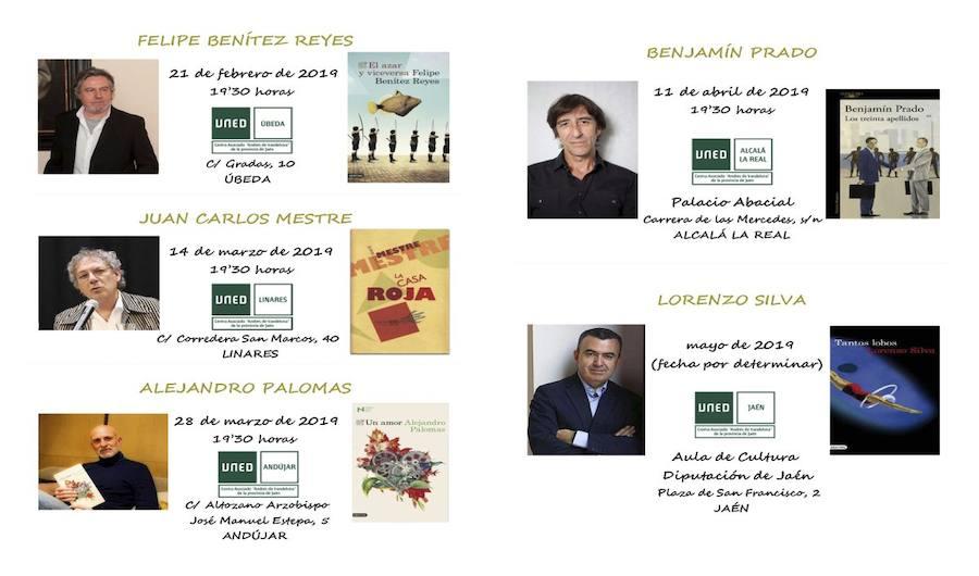 El poeta Benjamín Prado visitará Alcalá la Real gracias a la UNED